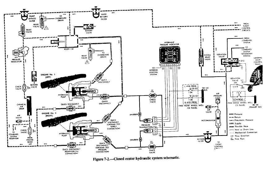 basic pressure relief valve diagram