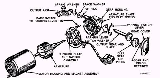1968 bel air wiper wiring diagram