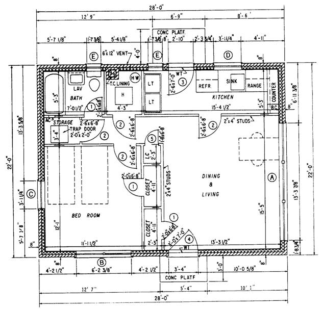 Finished Floor Elevation Symbol : Electrical floor plan nstruction drawings gallery of