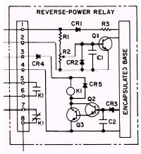 solid state reverse power protective relay