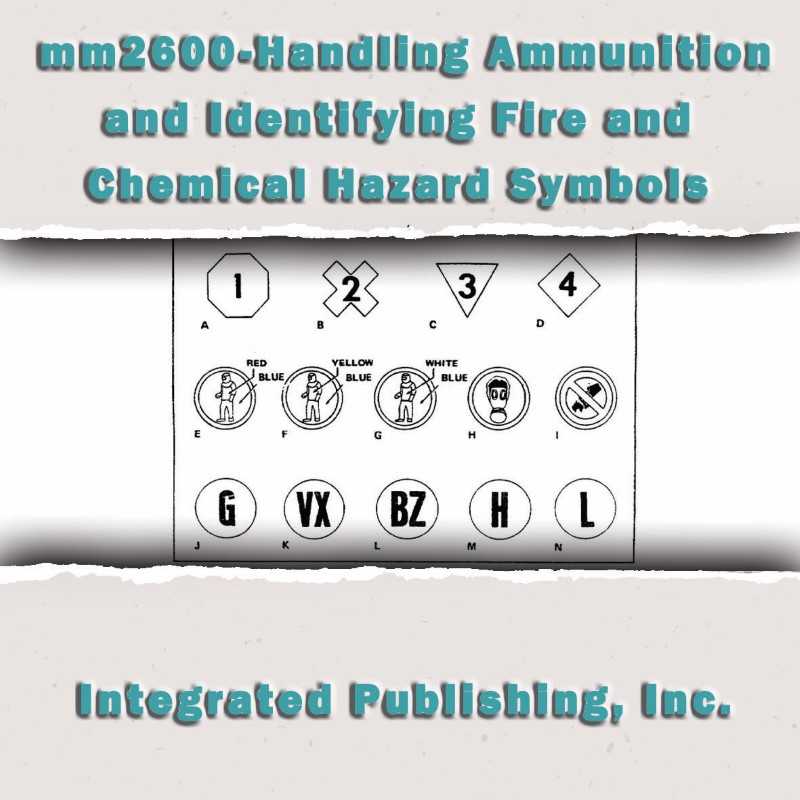 Handling Ammunition And Identifying Fire And Chemical Hazard Symbols