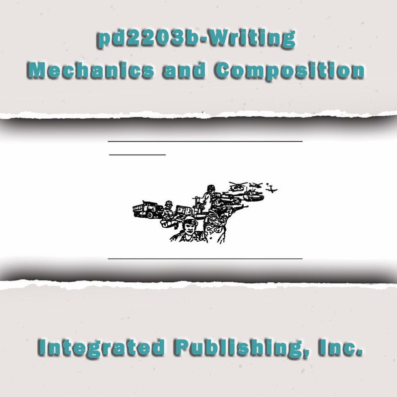 what is mechanics in writing