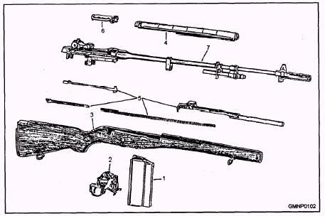 firing the m14 rifle. Black Bedroom Furniture Sets. Home Design Ideas