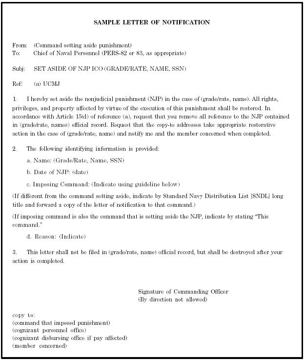 Suspension letter on misconduct