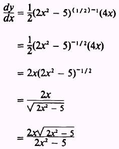 how to find the derivative of a fraction