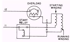 Single Phase Reversing Drum Switch Wiring Diagram as well Eed5th 9 moreover HVAC  pressor Hard Start additionally 120v Socket Diagram furthermore Split Phase Motor Wiring Diagram. on 120v split phase motor wiring diagrams