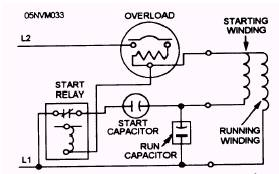 Capacitor Start Run Motor Wiring Diagram Modern Design Of Wiring
